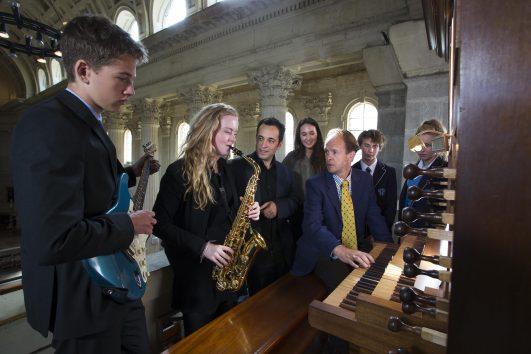 Organ In  Chapel 2015
