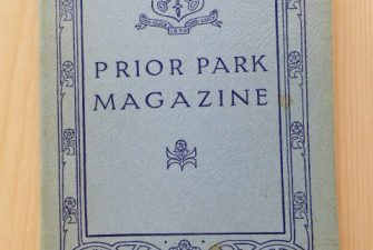 Missing Prior Park magazines from 1939, 1941 and 1943 desc